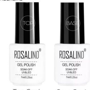 Rosalind - Base & Top coat nagellak set - Gel nagellak - UV gellak set - Topcoat - Basecoat