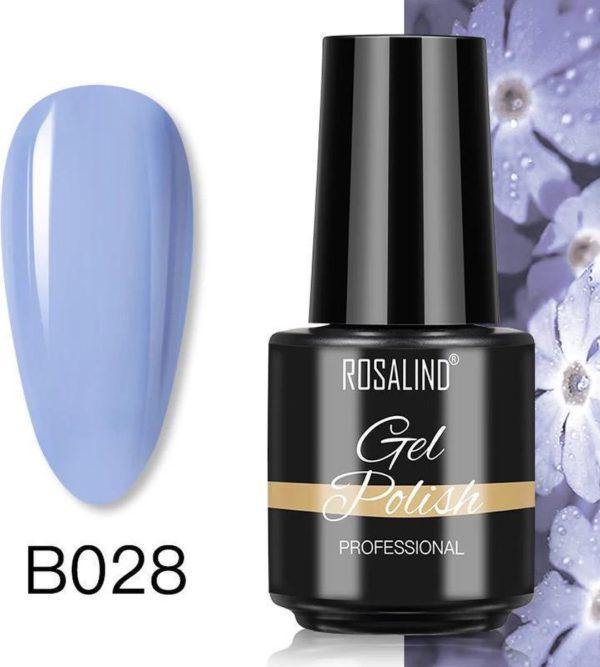 Rosalind Gelpolish - Gel nagellak - Gellak - UV & LED - Blauw B028 Sky Blue