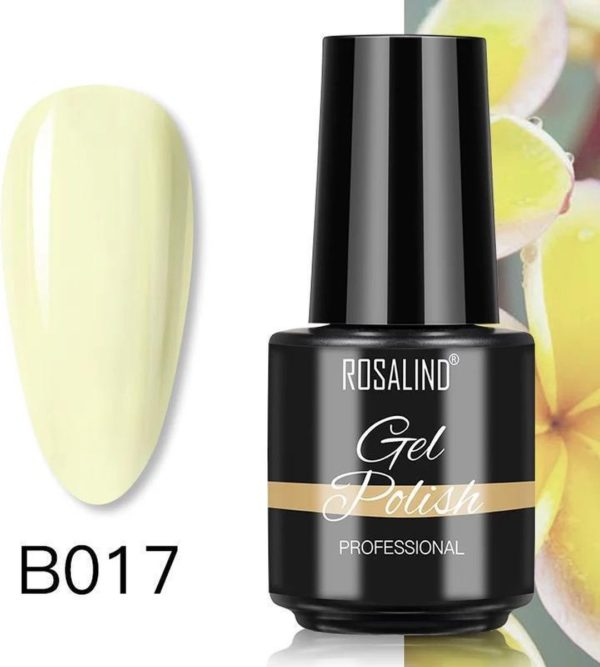 Rosalind Gelpolish - Gel nagellak - Gellak - UV & LED - Geel B017 Juicy Yellow