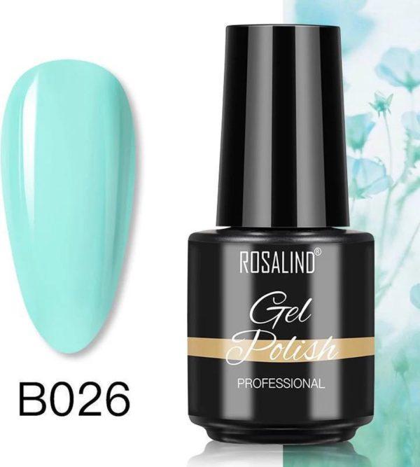 Rosalind Gelpolish - Gel nagellak - Gellak - UV & LED - Groen B026 Mint Green