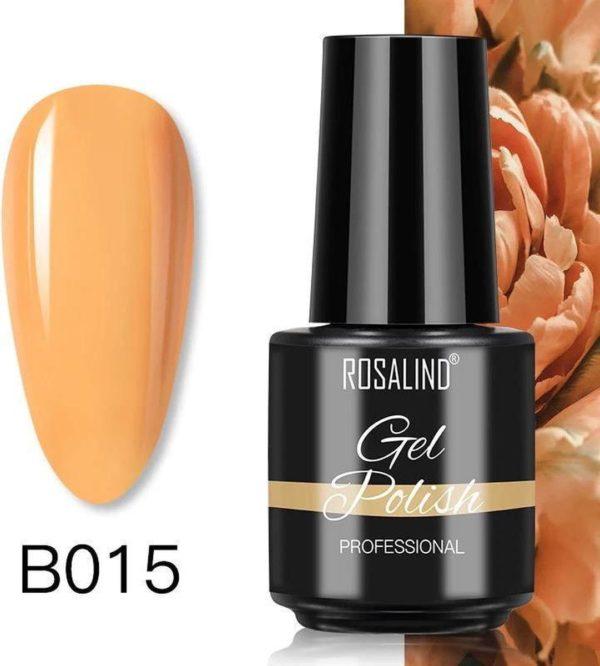 Rosalind Gelpolish - Gel nagellak - Gellak - UV & LED - Oranje B015 Coral Orange