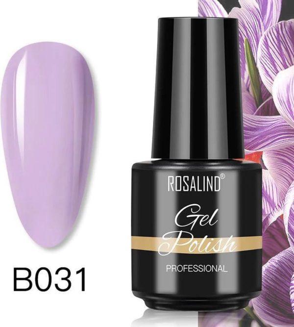 Rosalind Gelpolish - Gel nagellak - Gellak - UV & LED - Paars B031 Neutral Lavender