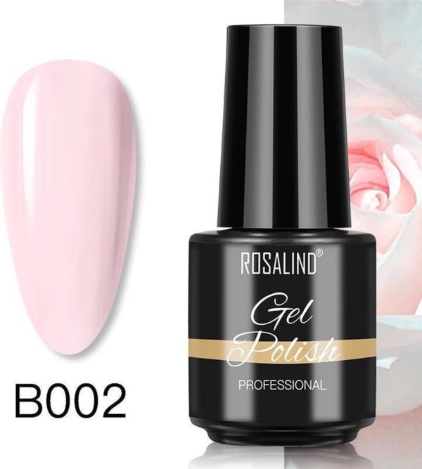 Rosalind Gelpolish - Gel nagellak - Gellak - UV & LED - Roze B002 Blush Pink
