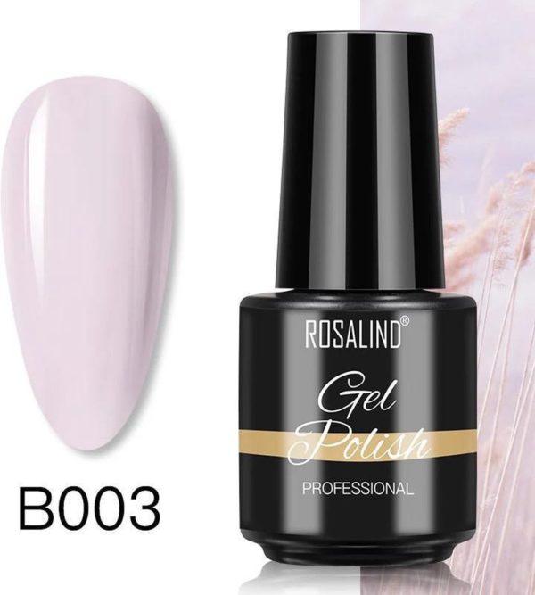 Rosalind Gelpolish - Gel nagellak - Gellak - UV & LED - Roze B003 Soft Pink