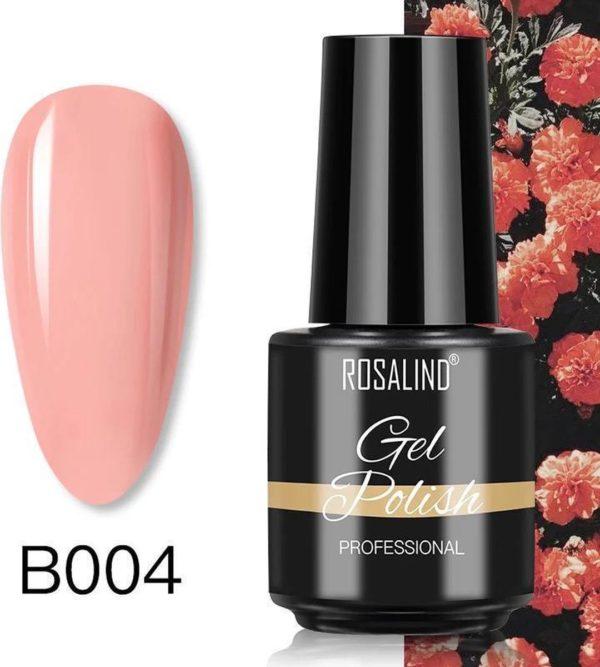 Rosalind Gelpolish - Gel nagellak - Gellak - UV & LED - Roze B004 Pastel Pink
