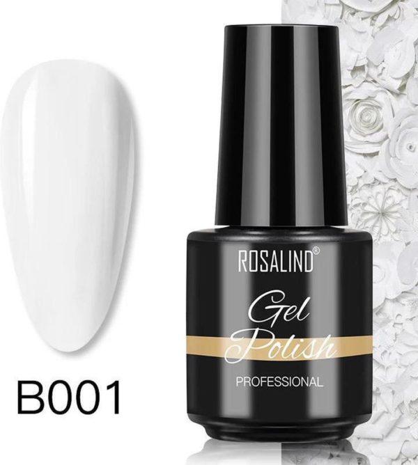 Rosalind Gelpolish - Gel nagellak - Gellak - UV & LED - Wit B001 Classic White