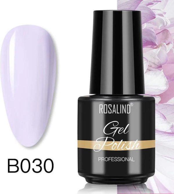 Rosalind Gelpolish - Gel nagellak - UV & LED - Gellak - Paars B030 Precious Lila