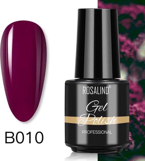 Rosalind Gelpolish - Gel nagellak - UV & LED - Gellak - Rood B010 Red Wine