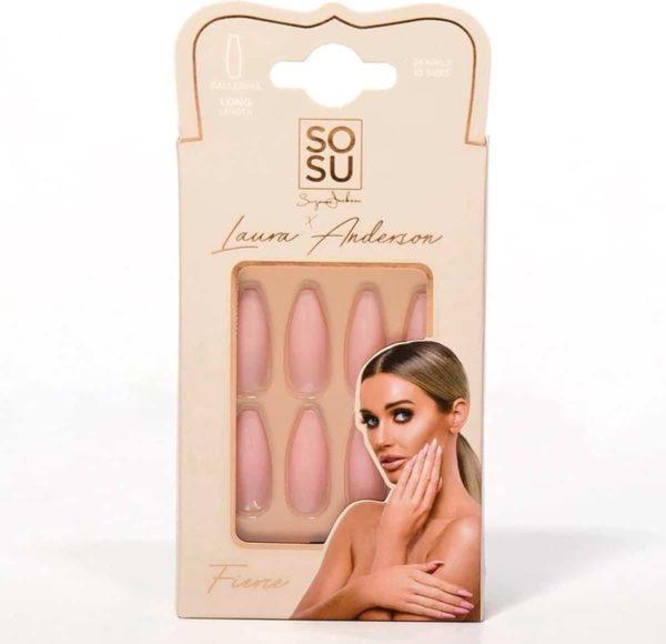 SOSU by SJ Laura Anderson False Nails Fierce - Press on nails - Plaknagels - Nepnagels - 24 stuks - Beste Kwaliteit