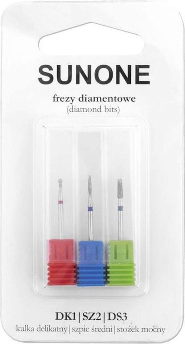 SUNONE Diamantslijpers 3 stuks - 08