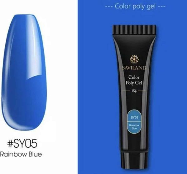 Saviland - Acrylgel - Polygel - Kleur Blue - Nail Art