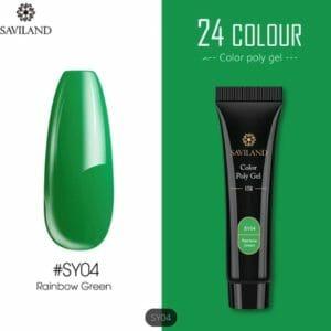 Saviland - Acrylgel - Polygel - Kleur Green - Nail Art