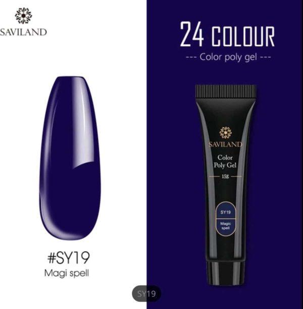 Saviland - Acrylgel - Polygel - Kleur Magi Spell - Nail Art
