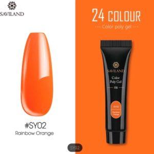 Saviland - Acrylgel - Polygel - Kleur Orange - Nail Art