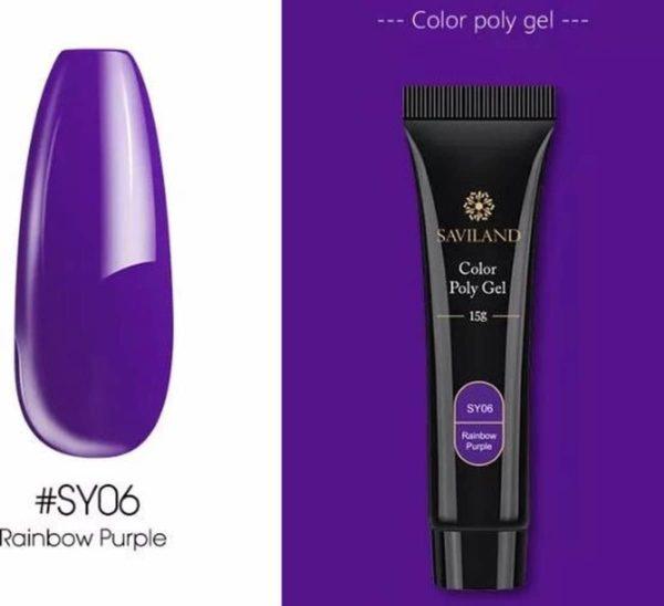 Saviland - Acrylgel - Polygel - Kleur Purple - Nail Art