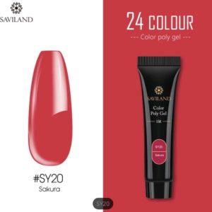 Saviland - Acrylgel - Polygel - Kleur Sakura - Nail Art