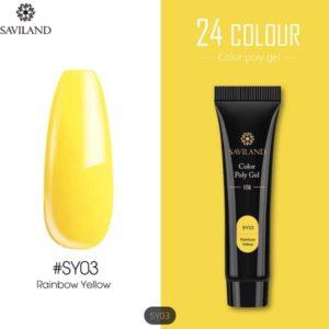 Saviland - Acrylgel - Polygel - Kleur Yellow - Nail Art