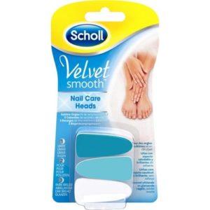 Scholl Velvet Smooth Elektrisch Nagelvijl Navullingen - 3 Stuks