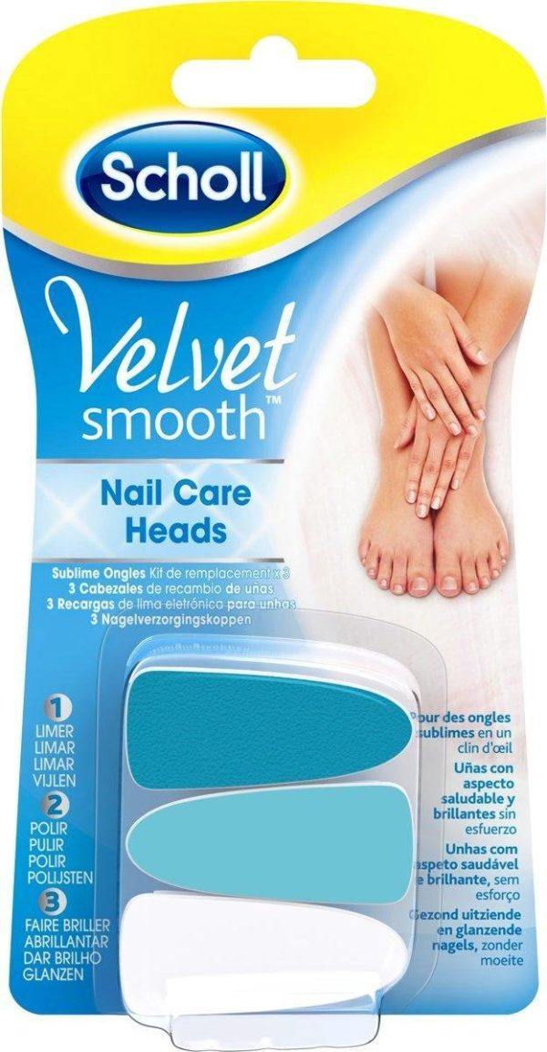 Scholl Velvet Smooth refill Nail Care