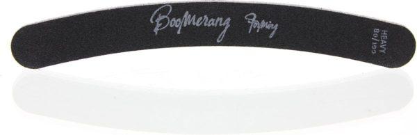 Sibel Nails Nagelvijlen Nagelvijl Boomerang Zwart 80/100