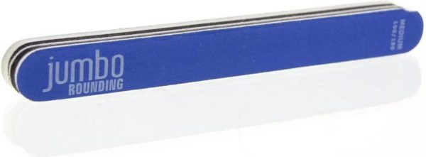 Sibel Nails Nagelvijlen Nagelvijl Jumbo Blauw 100/180 Nagelvijlen Ref.0011606 04 5stuks