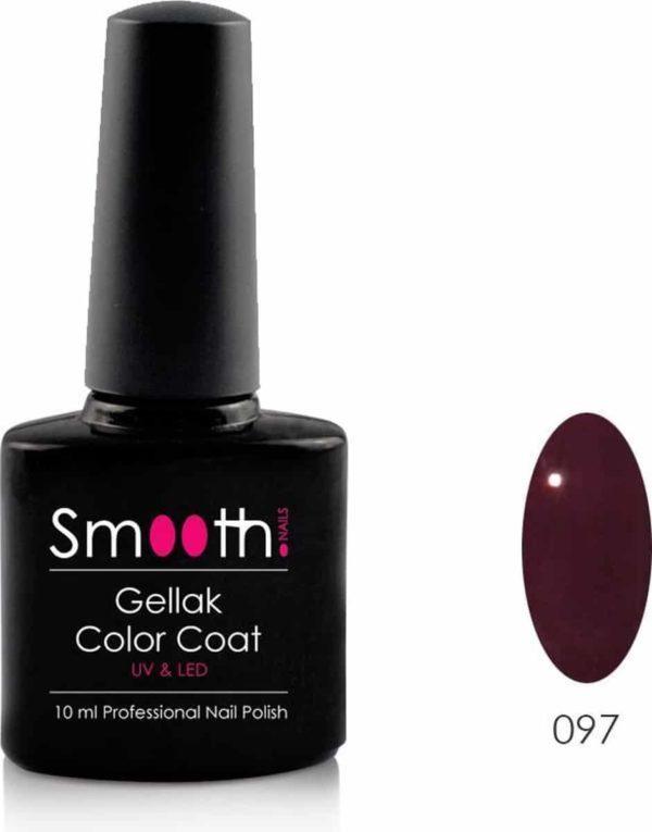 Smooth Nails - Aubergine - Gellak - Paars