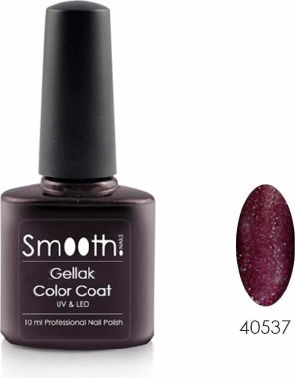 Smooth Nails - Diva Glam - Gellak - Rood - Glitter