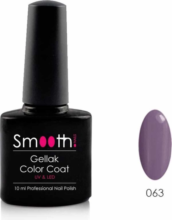 Smooth Nails - Velvet Plum - Gellak - Paars