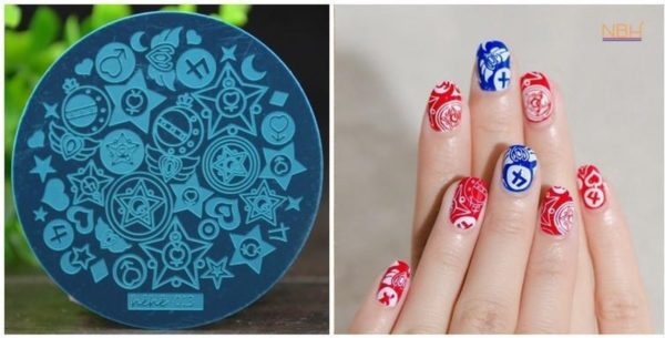 Stamping Plate 013 / nagel stempel- sjabloon