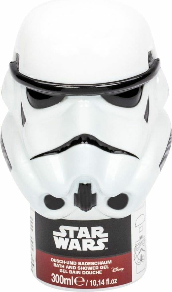 Star Wars-Bad en douche-gel-in-3D-look-wit - 300 ml