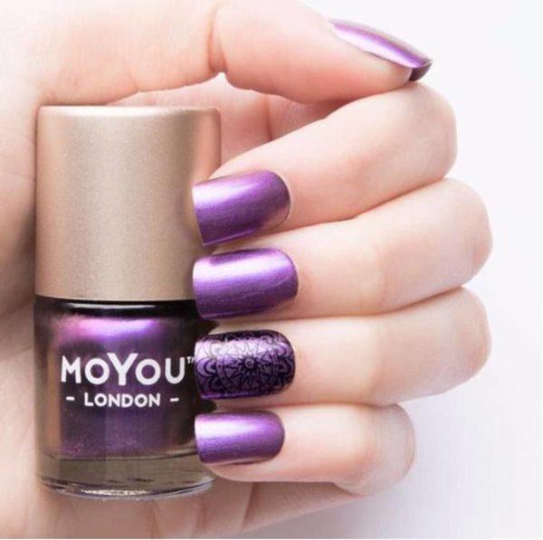 Stempel Nagellak - Stamping Nail Polish - Purple Haze