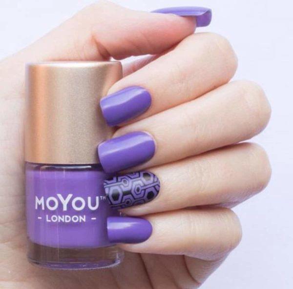 Stempel Nagellak - Stamping Nail Polish - Purple Punch