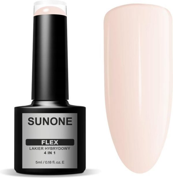 Sunone UV/LED Gellak FLEX 4in1 - Beige 100 - 5ml.