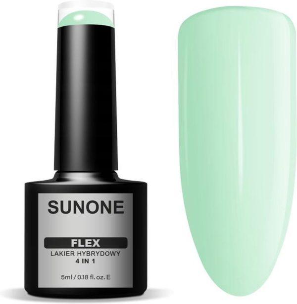 Sunone UV/LED Gellak FLEX 4in1 - Green 100 - 5ml.