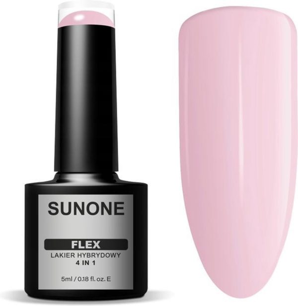 Sunone UV/LED Gellak FLEX 4in1 - Pink 104 - 5ml.