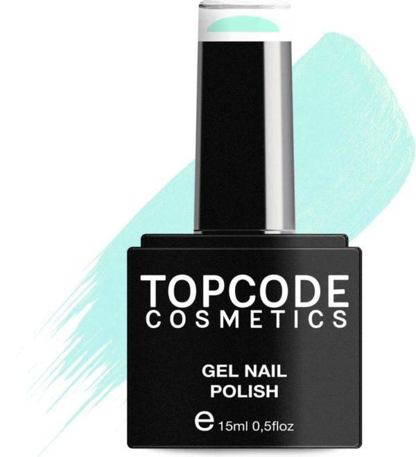 TOPCODE Cosmetics Gellak - Aqua Blue - #MCSU54 - 15 ml - Gel nagellak