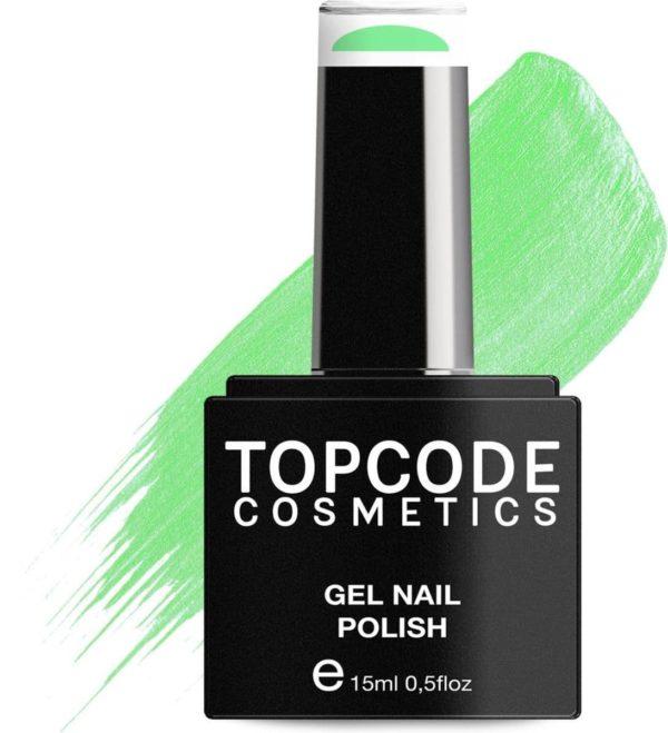 TOPCODE Cosmetics Gellak - Aquamarine - #MCBL46 - 15 ml - Gel nagellak