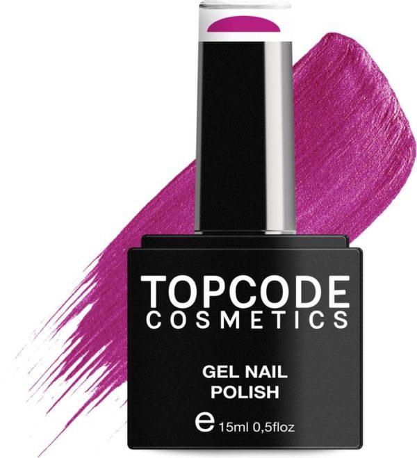 TOPCODE Cosmetics Gellak - Carmine Red - #MCPU34 - 15 ml - Gel nagellak