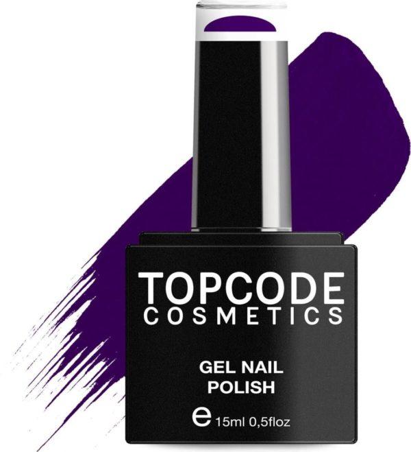 TOPCODE Cosmetics Gellak - Dark blue - #MCPU03 - 15 ml - Gel nagellak