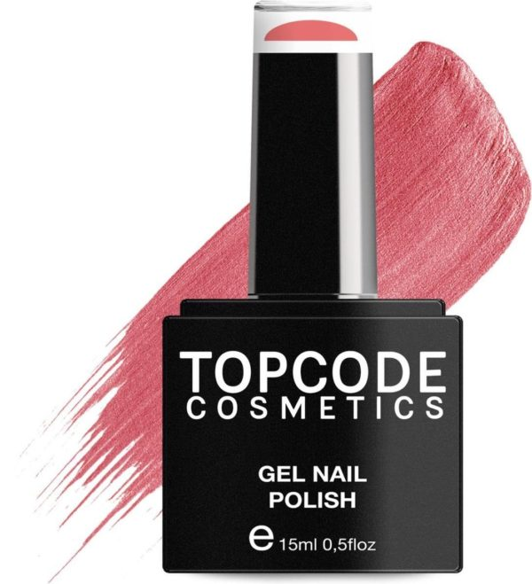 TOPCODE Cosmetics Gellak - Fiery Rose - #MCRE71 - 15 ml - Gel nagellak