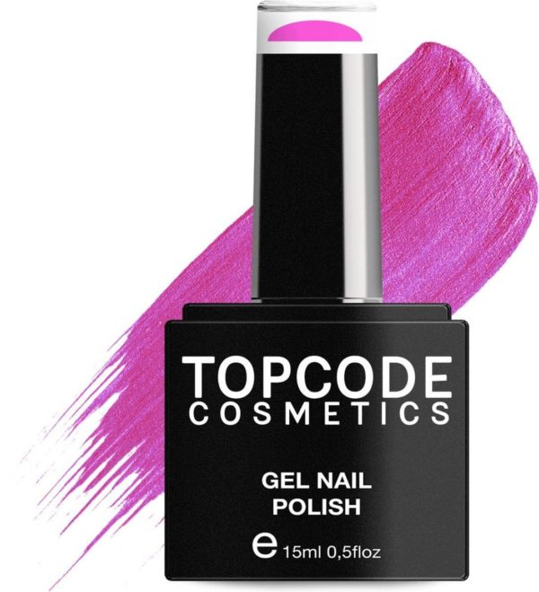 TOPCODE Cosmetics Gellak - French Rose - #MCPU25 - 15 ml - Gel nagellak