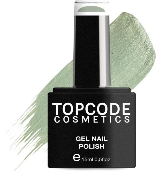 TOPCODE Cosmetics Gellak / Gel nagellak - Cambridge Blue - #MCNU68 - 15 ml - Gel nagellak