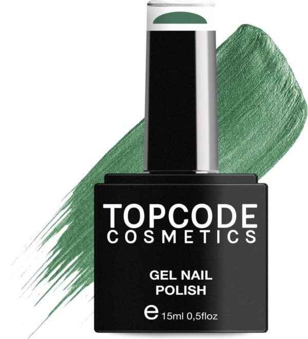 TOPCODE Cosmetics Gellak / Gel nagellak - Deep Sparkle - #MCGR10 - 15 ml - Gel nagellak