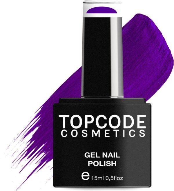 TOPCODE Cosmetics Gellak / Gel nagellak - Phthalo Blue - #MCPU02 - 15 ml - Gel nagellak