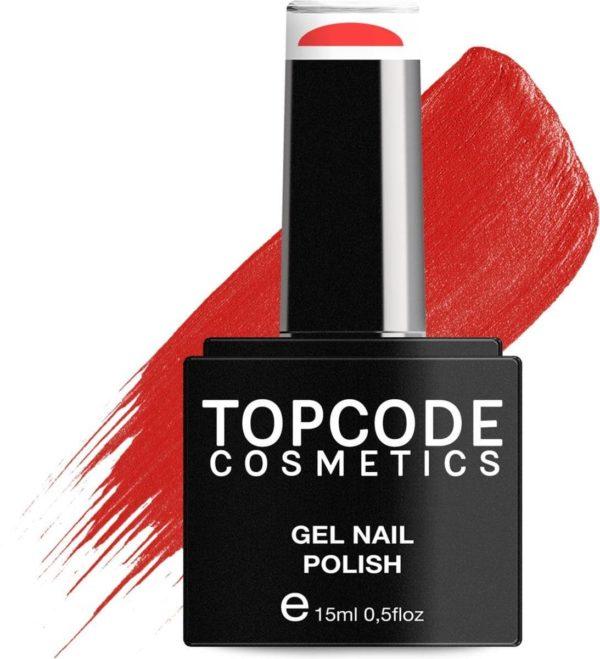 TOPCODE Cosmetics Gellak - Imperial Red - #MCRE07 - 15 ml - Gel nagellak