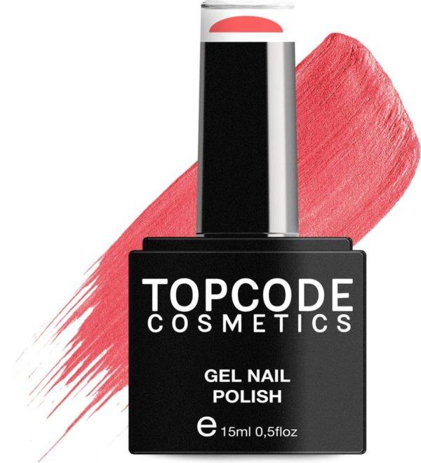 TOPCODE Cosmetics Gellak - Light Coral - #MCRE69 - 15 ml - Gel nagellak