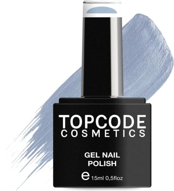 TOPCODE Cosmetics Gellak - Light Steel Blue - #MCNU52 - 15 ml - Gel nagellak