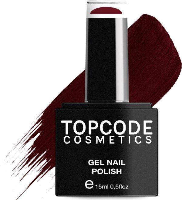 TOPCODE Cosmetics Gellak - Persian Red - #MCRE27 - 15 ml - Gel nagellak