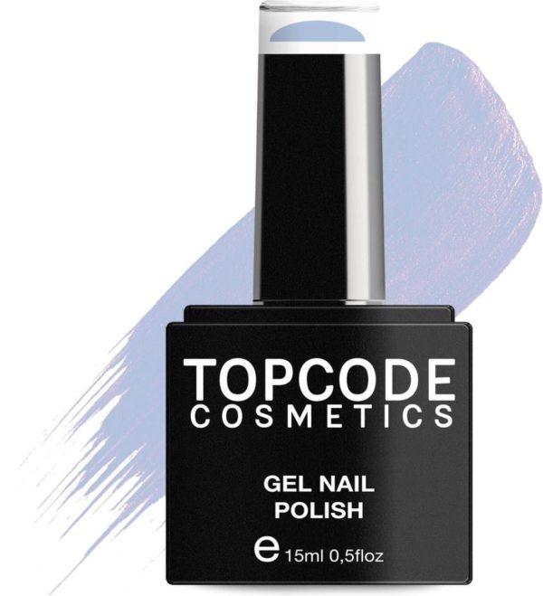 TOPCODE Cosmetics Gellak - Pewter Blue - #MCNU74 - 15 ml - Gel nagellak