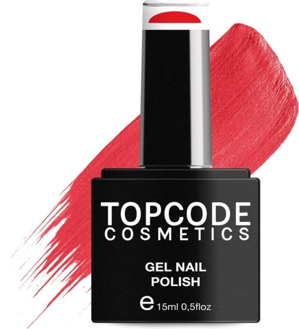 TOPCODE Cosmetics Gellak - Red Salsa - #MCSU89 - 15 ml - Gel nagellak